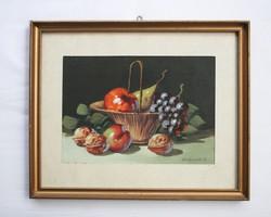 Gerhardt A. jelzésű festmény