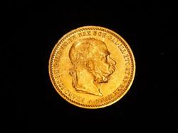 Arany 10 Korona,  I. Ferencz József 1906, nagyon szép