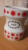 Alföldi porcelán fűszertartó, napocskás, centrum varia