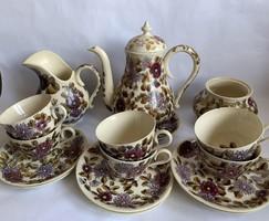 KURIÓZUM Zsolnay teás készlet