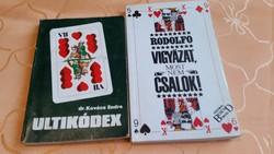 Ultikódex, Rodolfó vigyázat most nem csalok. 2 könyv eladó!