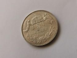 1900 Ferenc József ezüst 5 korona 24 gramm 0,900 szép darab