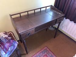 Antik Fésülködő asztal, fésülködőasztal