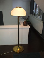 Réz állólámpa iparművész lámpa