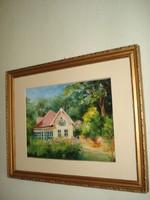 Villa Fonyódnál, Bélatelep felé