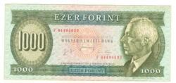 "1000 forint 1996 ""F"" 1."