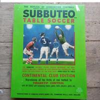 1970-es Vintage Subbuteo futball-foci játék.Társasjáték.