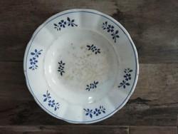 Jelzett, Bélapátfalva keménycserép tányér az 1800-as évekből