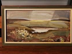 Cs. Pataj Mihály (Békéscsaba, 1921 - Szeged, 2008)  Régészet festmény