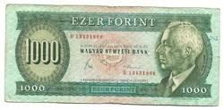 """1000 forint 1983 """"D"""""""