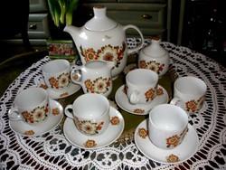 Alföldi porcelán kávéskészlet
