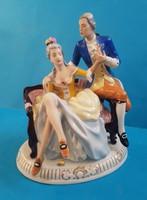 Royal Dux porcelán , Udvarlás  HIBÁS