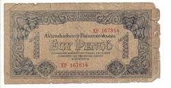1 pengő 1944 VH. sorszámos