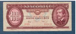 100 Forint 1984 Fordított hátlapi alapnyomat