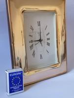 Ezüst 925 keretes asztali óra