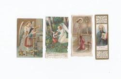 Vallási kártyák vegyesen 4 db 1922-1986