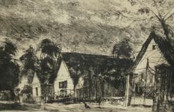 Élesdy István (1912-1987) : Falusi utca