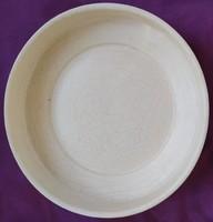 Régi finn Arabia kerámia kaspo - 13 x 16,5 cm.