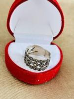 Köves gyönyörű antik  ezüst gyűrű !