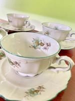 Antik Bavaria-Bareuther porcelán kávés szett