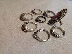 Ezüst gyűrű csomag
