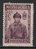 Mongólia 0249 Mi 52      1,00 Euró