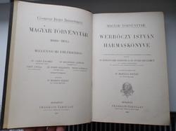 Werbőczy Hármaskönyv - Tripartitum