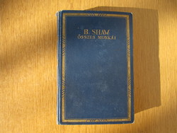 ~1930 Bernard Shaw összes munkái - Athenaeum Irodalmi és Nyomdai R.-T., aranyozott borító