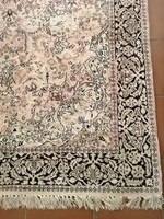 300 x 200 cm kézi csomozasu selyem kasmir perzsa szőnyeg 6