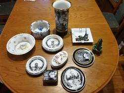 HOLLÓHÁZI és egyéb porcelánok