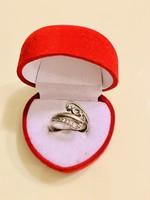 Monumentális Grófi ezüst gyűrű !