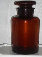 Nagy méretű patika üveg
