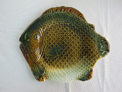 Gránit kerámia hal halas tál tányér