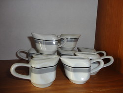 Old zsolnay cream pourers