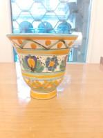 Iparművészeti retro Gorka Géza kerámia váza