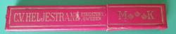C.V. HELJESTRAND NO 30  Borotva eladó,a tartójával.