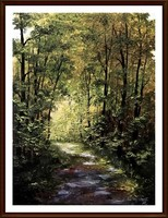 Cinnamon - May trip (30 x 40, oil + gift frame)