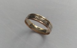Női 14 k-os karikagyűrű