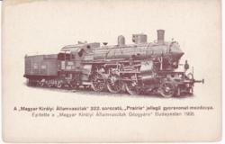 Prairie mozdony