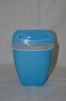 Retro műanyag fali sótartó, fűszertartó  ( DBZ 0077 )