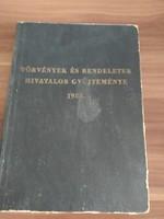 Törvények és rendeletek Hivatalos gyűjteménye 1953