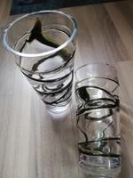 Nagyméretű üvegvázák párban, vagy külön