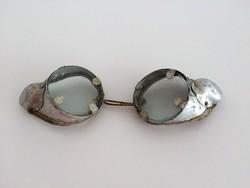 Régi motoros szemüveg
