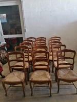 Neobarokk székek 15 db egyforma