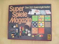 Régi társasjáték  játékgyűjtemény