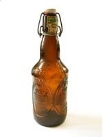 Hofmark würzig herb bier régi csatos sörösüveg