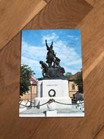 Eger - Dobó István szobor képeslap