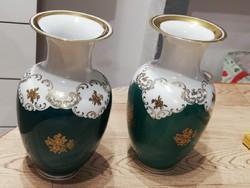 Reichenbach zöld váza 18,5 cm