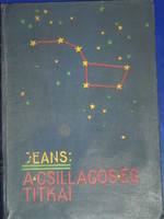 J.Jeans:A csillagos ég titkai,1936.