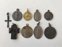 Antik vallásos Szent medálok